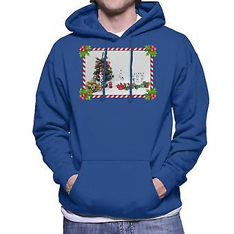 Oprindelige Stormtrooper Christmas Tree Candy Cane skub Sweatshirt med hætte til mænd