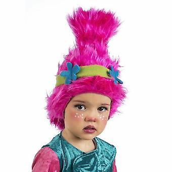 Troll pruik kinderen GNOME GNOME kinderen pruik roze