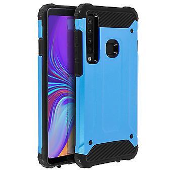 Carcasa Samsung Galaxy A9 2018 bimateria anticaídas (1,8m) Azul