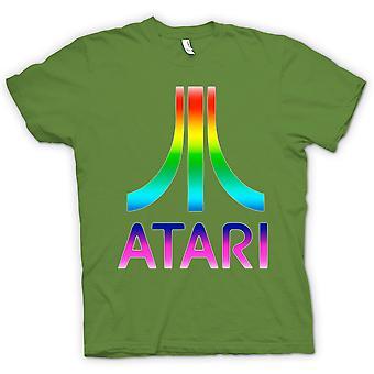 Womens T-shirt-Atari Retro Funny Spiele