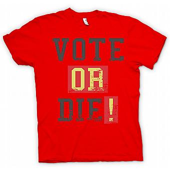 Womens T-shirt - Vote Or Die - Funny South Park Inspired