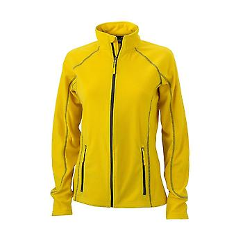 James and Nicholson Womens/Ladies Structure Fleece Jacket
