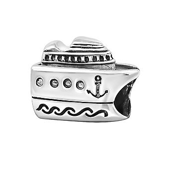Cruise Ship - 925 Sterling Silber Plain Beads - W10520X