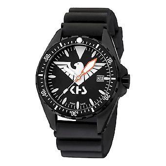 KHS MissionTimer 3 heren horloge horloges Eagle één KHS. MTHS. DB