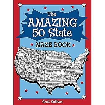 The Amazing 50 States Maze Book