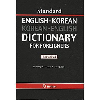 Standard English-Korean, Korean-English Dictionary for Foreigners: Romanized Version
