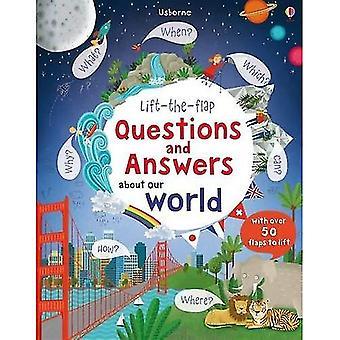 Lift-the-Flap-vragen en antwoorden over onze wereld (Lift-the-Flap vragen & antwoorden)