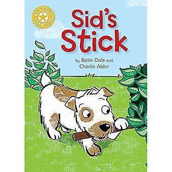 Champion de la lecture: Bâton de Sid: Independent lecture 3 jaune (Champion de la lecture)