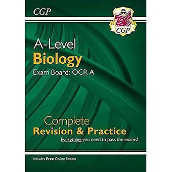 Nueva biología de bachillerato para 2018: OCR una revisión completa del año 1 y 2 y práctica con la edición en línea