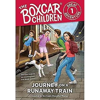 Resa på ett skenande tåg (Boxcar barn stora äventyr)
