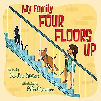 Mijn familie vier verdiepingen omhoog