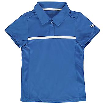 Wilson Kids Polo Shirt Junior Girls