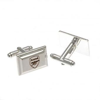 Arsenal Silver Plated Cufflinks