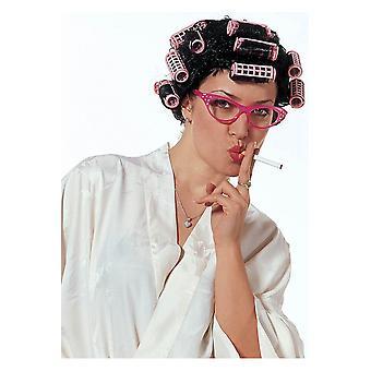 Parrucche parrucca di casalinga disperata con i bigodini