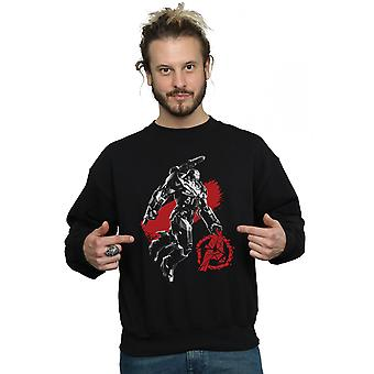 Marvel hommes Avengers Endgame mono guerre machine Sweatshirt