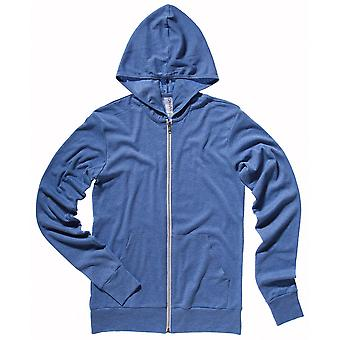 Cotton Addict Mens Triblend Relaxed Fit Lightweight Hoodie