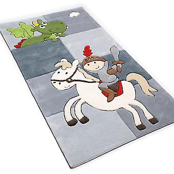 Dywany - dladzieci Szary rycerz Smok - 3397