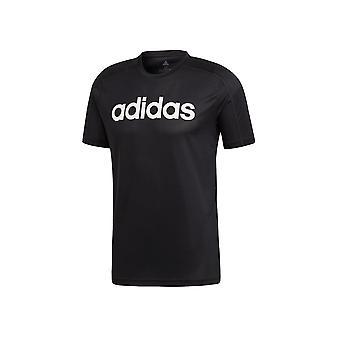 Adidas D2M ClimaCool logo DU1246 koulutus koko vuoden Miesten t-paita