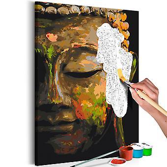 Tableau à peindre par soi-même - Buddha in the Shade