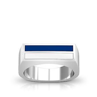 Los Angeles Dodgers Ring In Sterling Silver Design by BIXLER
