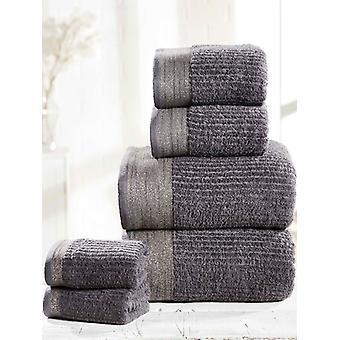 Mayfair 6 Piece toalha de carvão Bale