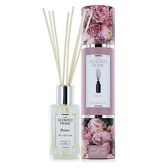 Ashleigh & Burwood Scented Home 150ml Reed Diffuser Gift Set Peony