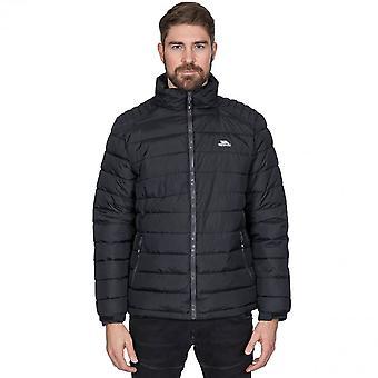 Trespass mężczyźni Darrell wyściełane ciepłe regulowane casual kurtki