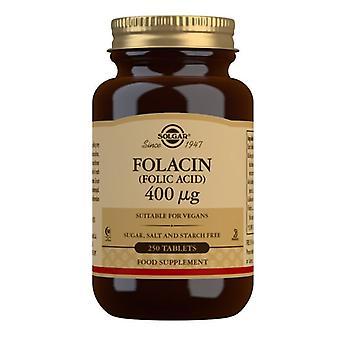 Solgar Folacin (Folic Acid) 400mcg Tablets 250 (1081)