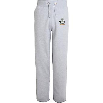 The Rifles Veteran - Licensed British Army Embroidered Open Hem Sweatpants / Jogging Bottoms