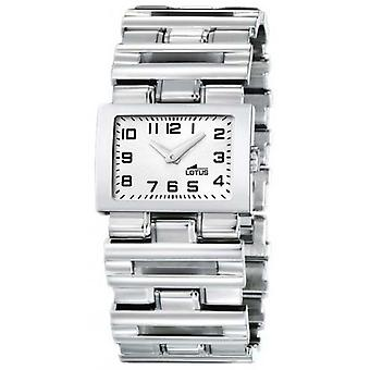 Lotus cool Quartz Analog Woman Watch with 15473/D Stainless Steel Bracelet