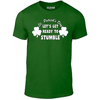 Men's st. patrick's day - let's get ready to stumble! t-shirt