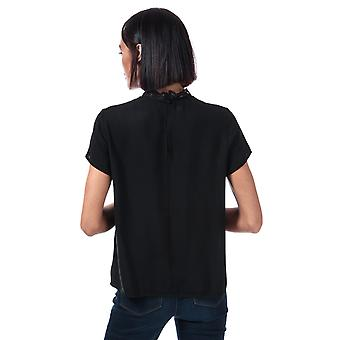 Womens Only First Lace Top in Black
