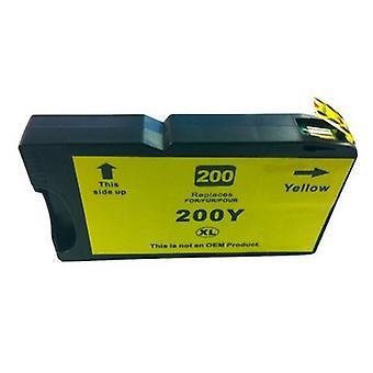 200XL / 220XL الصباغ الأصفر متوافق خرطوشة