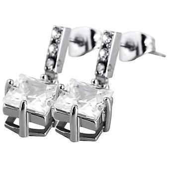 Akzent - Women's lobe earrings - stainless steel - cod. 004450000023