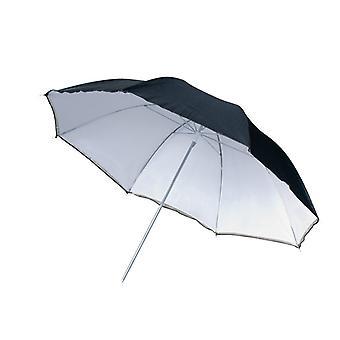 BRESSER SM-11 Ombrello riflettente bianco/nero 109 cm