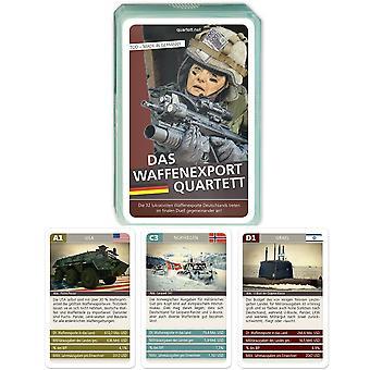 Arms Export nieuwe kwartet wapens kaartspel