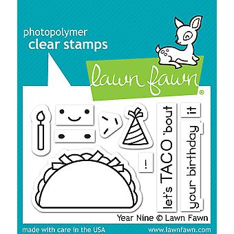Lawn Fawn Year Nine Clear Stamps