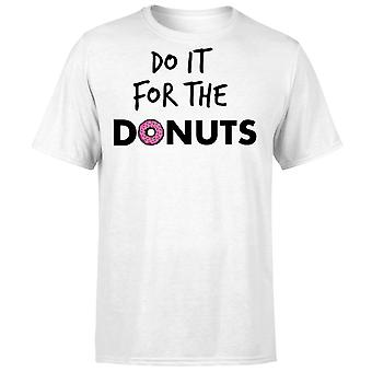 Do it for Donuts T-Shirt - White