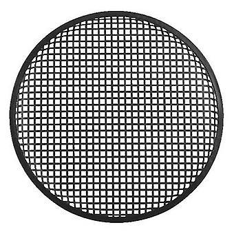 Monacor MZF-8632 Speaker grille (Ø x H) 384 mm x 16 mm