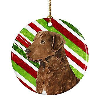 تشيسابيك خليج المسترد كاندي قصب عطلة عيد الميلاد زخرفة السيراميك