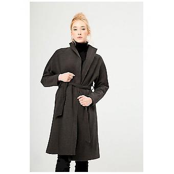 Fontana 2.0 - Clothing - Coat - 11408_02_ANTRACITE - Women - dimgray - 42