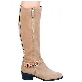 Pierre Cardin - Shoes - Boots - 4105215_TAUPE - Women - peru,gold - 37