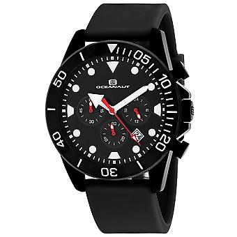 Oceanaut Men-apos;s Naval Black Dial Watch - OC1310