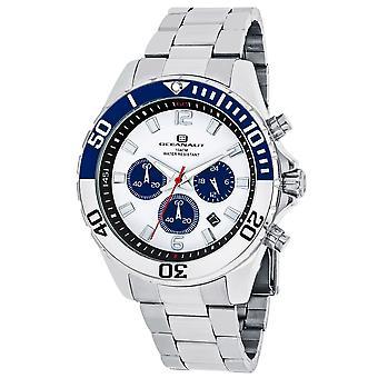 Oceanaut Men-apos;s Sevilla White Dial Watch - OC2521