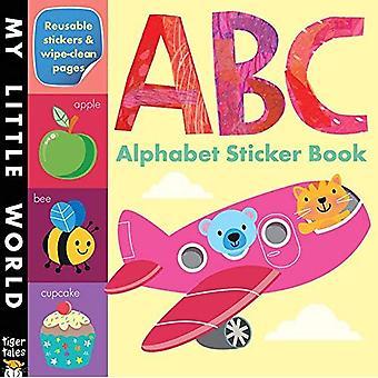 Alphabet autocollant abécédaire (mon petit monde)