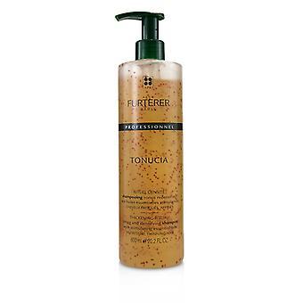Rene Furterer Tonucia Espessamento Ritual Tonificação e Shampoo Densifying - Cabelo desbaste angustiado (produto do salão) - 600ml/20.2oz