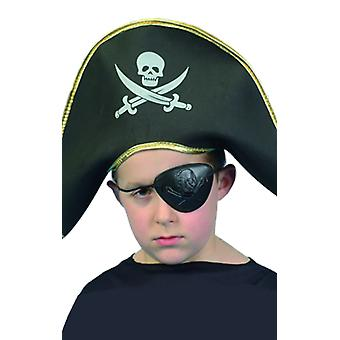 Kids Pirate Captain Hat Fancy Dress Costume Accessoire