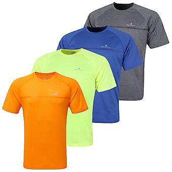 Ronhill mens dagelijks korte mouw lichtgewicht wicking Running T-shirt