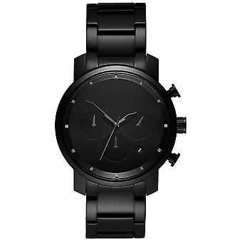 MVMT MC02-BB chrono black link 40mm 10ATM