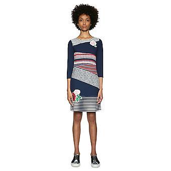 Desigual Women's Ritalevi Bandage Print Dress